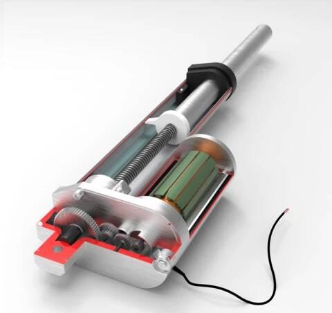 电动推杆的内部结构