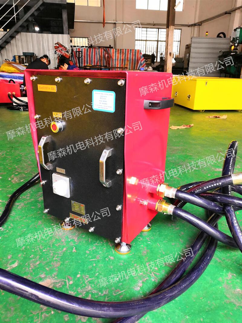 派克防爆伺服电机在石油管道切割上的应用